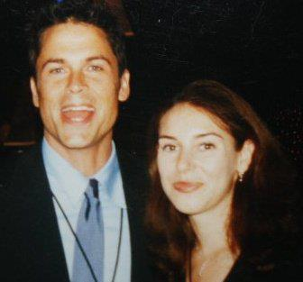 Rob Lowe and Holly